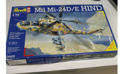 Обмен 04405 Mil Mi-24D Hind 1:72 Revell