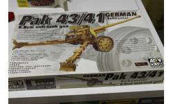 35059 PAK 4341 88cm 1:35 AFV, сборные модели бронетехники, танков, бтт, 1/35