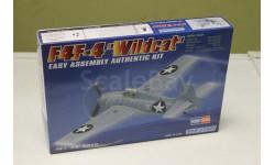 HB80220 Самолет F4F-4-Wildcat 1^35 Hobby Boss