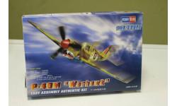 12465 самолёт  P-40M/N Warhawk (1:72) Hobby Boss, масштабные модели авиации, 1/72, Tamiya