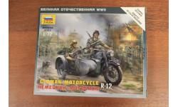 6142 Немецкий мотоцикл BMW R-12  Звезда