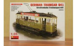 38003М 'Немецкий Трамвай 641(Strassenbahn Triebwagen 641)' 1^35 Miniart