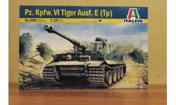 0286    TIGER I   AUSF. E/H1  1:35 Italeri, сборные модели бронетехники, танков, бтт, 1/35