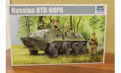 01543    бронетранспортер  БТР-60ПА 1:35  Trumpeter, сборные модели бронетехники, танков, бтт, 1/35