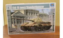 01536 немецкий танк Е-50 1:35  Trumpeter