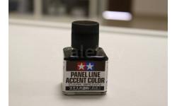 87140 Краска смывка темно-коричневая Tamiya, фототравление, декали, краски, материалы