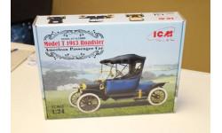 Model T 1913 Roadster, Американский пассажирский автомобиль 1:24 ICM