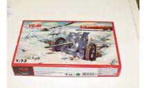 72251 3,7 cm Pak 36 1:72 ICM, сборные модели бронетехники, танков, бтт, 1/72