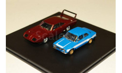 набор DODGE Charger Daytona 1969 and  FORD Escort RS 2000 MkI 1974 1:43 GREENLIGHT, масштабная модель, 1/43, Greenlight Collectibles
