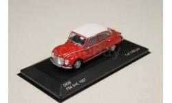 DKW Vemag Belcar 1965 Red/White  1:43 WHITEBOX, масштабная модель, 1/43
