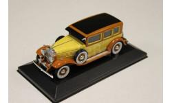 CADILLAC V16 LWB Imperial Sedan 1930 Yellow/Brown 1:43 WHITEBOX