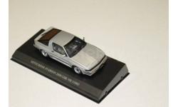 MITSUBISHI STARION 2600 GSR-VR (E-A187A) 1988 SILVER  1 :43 EBBRO & HI-STORY, масштабная модель, 1:43, 1/43, Nissan
