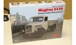 35452 Magirus S330, Германский грузовой автомобиль (производства 1949 г.) 1:35 ICM, сборные модели бронетехники, танков, бтт, 1/35