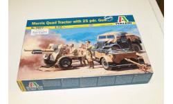 7027ИТ Morris Quad Tractor / 25 PDR.Gun 1:72 Italeri