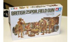 35046 Английская пушка 25PDR с расчетом 6 фигур 1:35 Tamiya