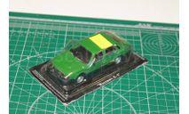 Автолегенды СССР №82 Москвич-С1 'Меридиан' 1975 г. зеленый, масштабная модель, 1:43, 1/43, МАЗ