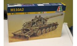 0291  САУ  M110A2 1:35 italeri