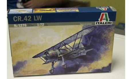 1276  самолет  CR.42 LW 1:72 italeri, сборные модели авиации, 1/72
