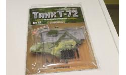 Танк Т-72 собери модель № 15 1:16, журнальная серия масштабных моделей, 1/16