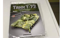Танк Т-72 собери модель № 41 1:16