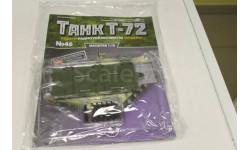 Танк Т-72 собери модель № 46 1:16