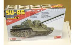 35187 Су-85 образца 1943 г. ( с полным интерьером) Miniart 1:35