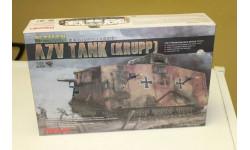 TS-017 German A7V Tank 1:35 Meng