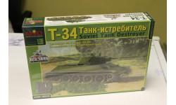 3503 Танк-истребитель Т-34 1:35 Макет