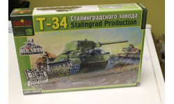 3504 Танк Т-34/76 СТЗ 1:35 Макет