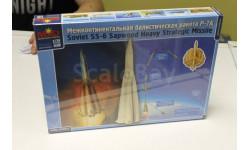 44001 Ракета Р-7А2 1:72 Макет