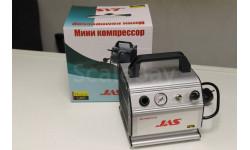 Компрессор  JAS 1207, с регулятором давления, автоматика, ресивер 0.3 л. JAS
