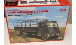 35416 Lastkraftwagen 3,5 t AHN 1:35 ICM ICM, сборная модель автомобиля