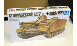 35087 STURMGESCHUTZ IV SdKfz163 1ф. 1:35  Tamiya