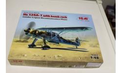 48213 Hs 126A-1 с бомбодержателем, Самолет-разведчик Легиона 'Кондор' 1:48 ICM