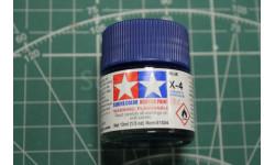 Х-4 Blue (Синяя) краска акрил. 10мл. Tamiya