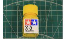 X-8 Lemon Yellow эмаль 10мл. Tamiya, фототравление, декали, краски, материалы, scale0