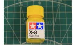 X-8 Lemon Yellow эмаль 10мл. Tamiya, фототравление, декали, краски, материалы
