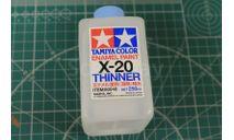 X-20 250мл. Растворитель для эмали Tamiya, фототравление, декали, краски, материалы, scale0