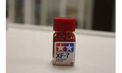 XF-7 Flat Red (Красная матовая) эмаль 10 мл  Tamiya, фототравление, декали, краски, материалы