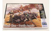 Серия битвы в пустыне, Клан Черепа - Ангелы Смерти 35122 1:35 MasterBox, миниатюры, фигуры, 1/35, Master Box