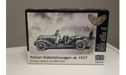 35101 Немецкий полицейский автомобиль (версия 1937г) 1:35 MasterBox, сборная модель автомобиля, 1/35, Master Box