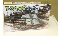 6205Д Танк T-34/76 Mod.1941 1:35 Dragon