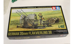 32554 German 20mm FLAKVIERLING 38 1:48 Tamiya