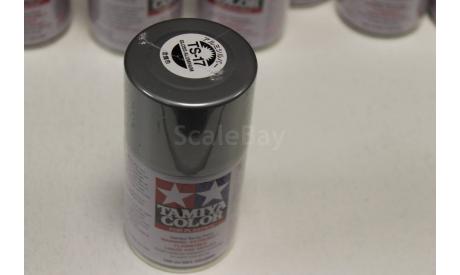 TS-17 Gloss Aluminum - краска-спрей в бал. 100 мл. Tamiya, фототравление, декали, краски, материалы