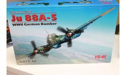 48232 JU 88A-5 Германский бомбардировщик 1:48 ICM  Возможен обмен