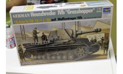 Обмен. 00373   САУ IV b 'Грассхоппер'  1:35 Trumpeter, сборные модели бронетехники, танков, бтт, 1/35