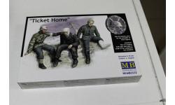 "3552-""Билет домой"", Немецкие солдаты, 1941-1943 г. 1:35 MasterBox, миниатюры, фигуры, 1/35, Master Box"