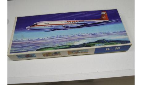 IL-18, ИЛ-18 1:100 Plasticart Возможен обмен, сборные модели авиации, 1/100