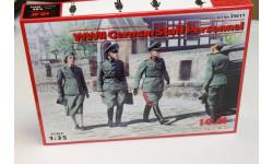 35611-Германский штабной персонал 1:35 ICM  Возможен обмен, миниатюры, фигуры