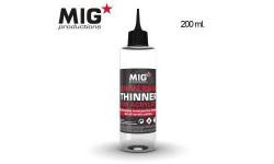 P263 Mig Универсальный Растворитель для акрила 200мл (Universal thinner for acrylics) возможен обмен, фототравление, декали, краски, материалы, МиГ, scale0